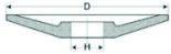 Шлифовальные круги .Рабочая скорость до 30 м/сек  ГОСТ Р 52781-2007, ОСТ 2 И70-9-87